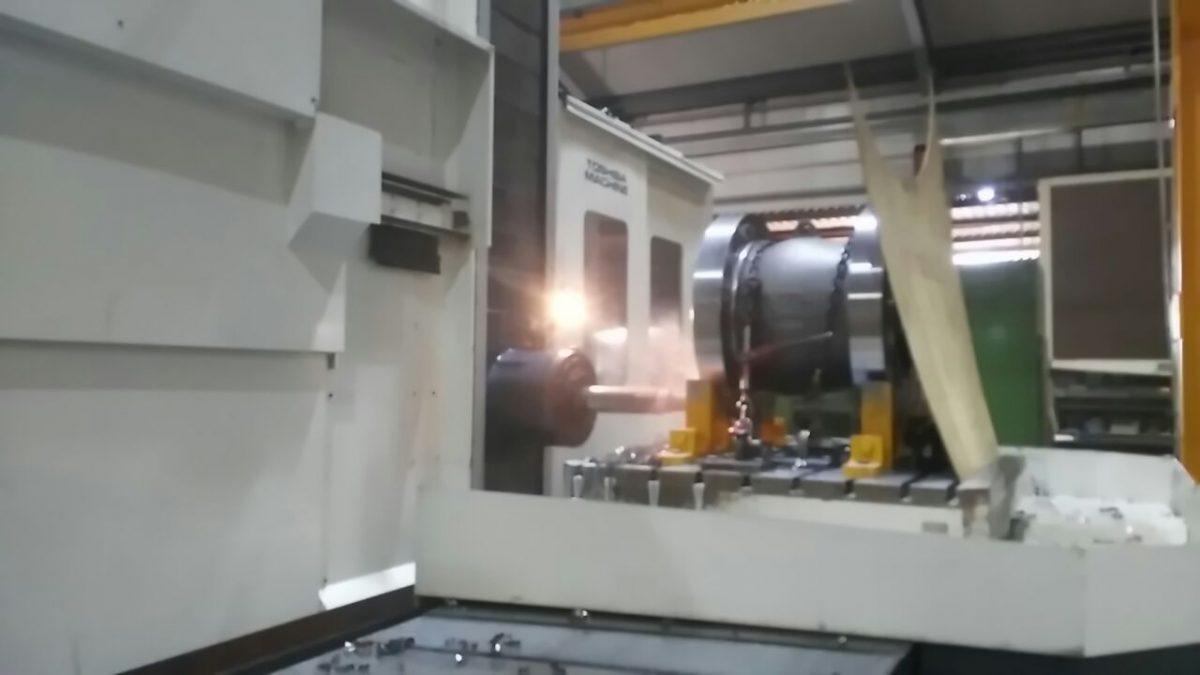 check valve machining
